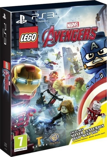 Picture of PS3 LEGO MARVEL AVENGERS TOY EDITION