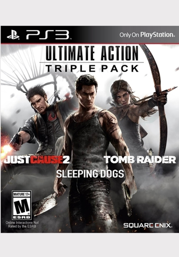 תמונה של PS3 ULTIMATE ACTION TRIPLE PACK
