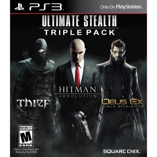 Picture of PS3 ULTIMATE STEALTH TRIPLE PACK