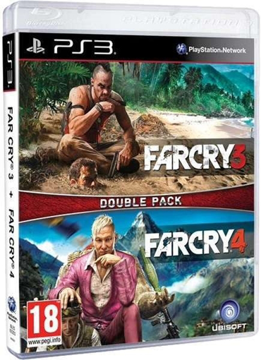 Picture of PS3 FAR CRY 3+4 DOUBLE PACK