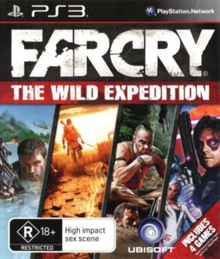 תמונה של PS3 FAR CRY THE WILD EXPEDITION