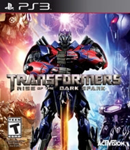Picture of PS3 TRANSFORMERS RISE OF THE DARK SPARK