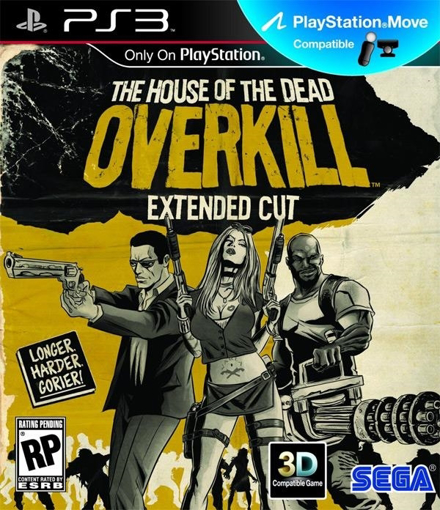 תמונה של PS3 THE HOUSE OF THE DEAD OVERKILL