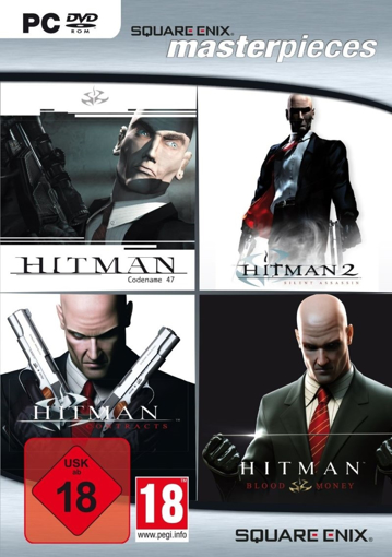 Picture of PC master pieces square enix hitman collection
