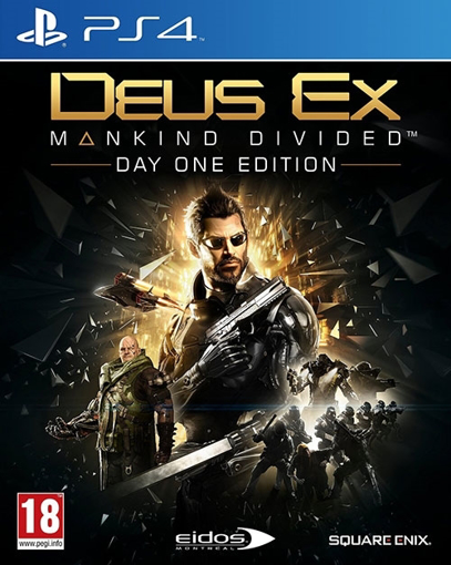 תמונה של PS4 DEUS EX MANKIND DIVIDED D1 EDITION
