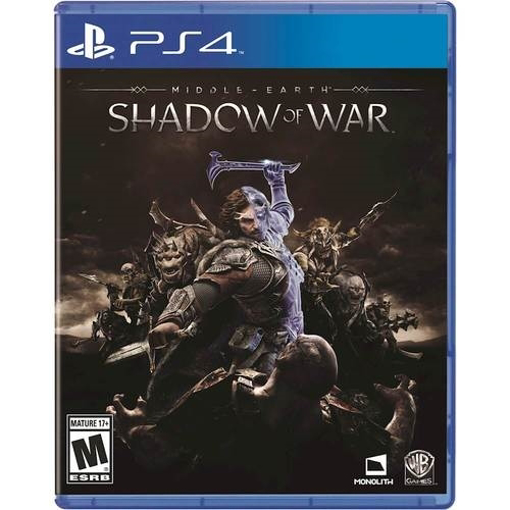 Picture of PS4 shadow of mordor goty