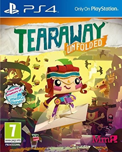 תמונה של PS4 tearaway unfolded