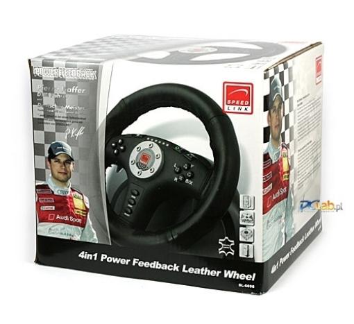 תמונה של 4in1  sl-6698 Power Feedback Racing Wheel