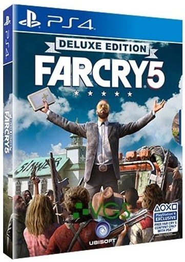Picture of FarCry 5 Deluxe Edition PS4