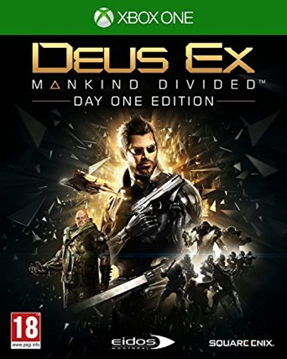 תמונה של Xbox One DEUS EX MANKIND DIVIDED D1 EDITION