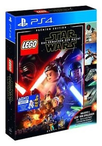 Picture of PS4 lego star wars the force awakens + toy