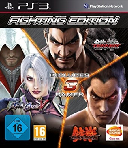 Picture of Ps3 Fighting Edition: Tekken 6/Tekken Tag Tournament 2 and Soul Calibur V