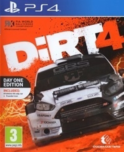 Picture of DIRT 4 Steelbook Edition - PS4