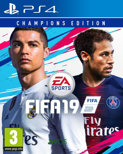 Picture of ps4 Fifa 19 Champions Edition