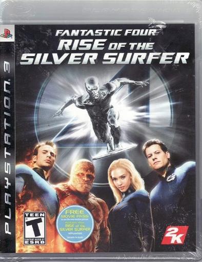 תמונה של fantastic four rise of the silver surfer-ps3