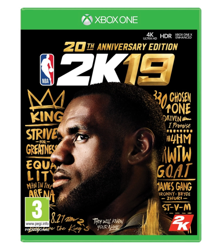 Picture of NBA 2K19 20th Anniversary Edition Xbox One