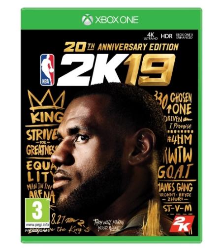 תמונה של NBA 2K19 20th Anniversary Edition Xbox One