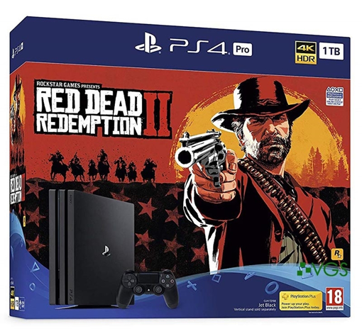 Picture of Sony PS4 Pro 1TB Red Dead Redemption 2 Bundle