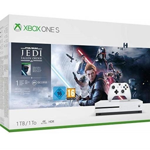 Picture of קונסולת Xbox One S 1TB + Star Wars Jedi Fallen Order