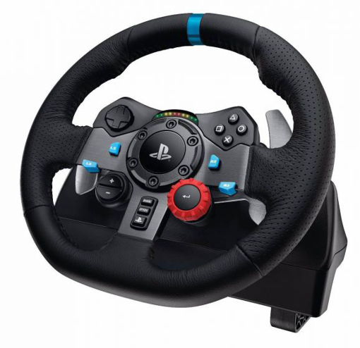 תמונה של הגה מירוצים PS3/4 DRIVING FORCE G29 מבית Logitech