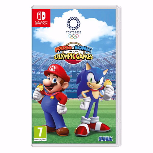 Picture of Mario and Sonic at the Olympic Games Tokyo 2020 Nintedno Switch
