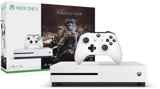 תמונה של Microsoft Xbox One S 1TB Middle earth: Shadow of War