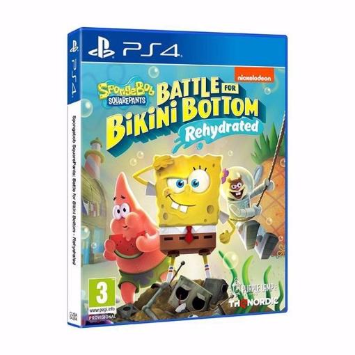 Picture of spongebob: battle for bikini bottom PS4 בובספוג לסוני 4