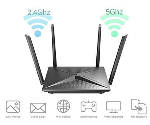 Picture of ראוטר D-link DIR-2150 802.11ac Wireless AC2100 Dual Band MU-MIMO
