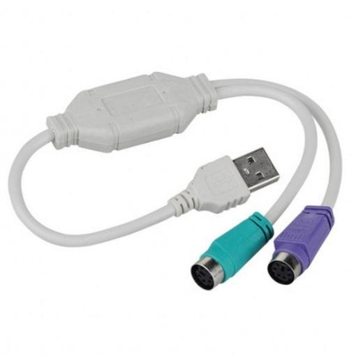 תמונה של מתאם USB ל 2 - PS2