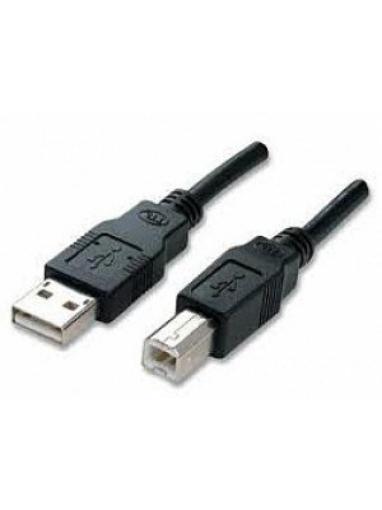 תמונה של כבל USB למדפסת 5 מטר