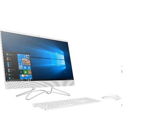 תמונה של נייח HP AIO 2E8H2EA 8GB 512NVME 23.8 FHD WHITE