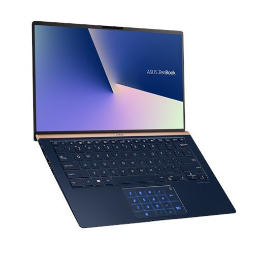 Picture of נייד Asus Zenbook 14 i5-8265u 8gb 256NVME FHD Dos Blue