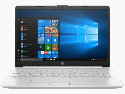 Picture of נייד HP 15 i5-1035G1 8GB 512 NVME 15.6 FHD WIN10 SILVER 1Y