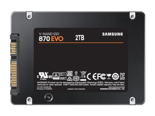 תמונה של דיסק פנימי Samsung SSD 870 EVO 2TB SATA III 2.5