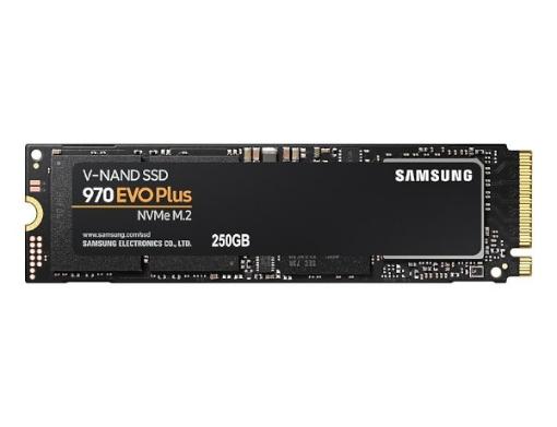 תמונה של דיסק פנימי SAMSUNG EVO970 PLUS V7S250BW SSD 250GB M.2 PCIe NVMe