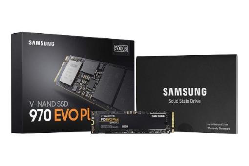 תמונה של דיסק פנימי SAMSUNG EVO970PLUS V7S500BW 500GB M2 PCIe NVMe