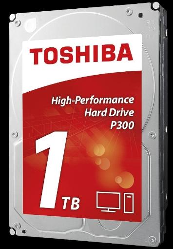 תמונה של דיסק קשיח פנימי לנייח Toshiba P300 1TB 7200rpm 64MB 3.5