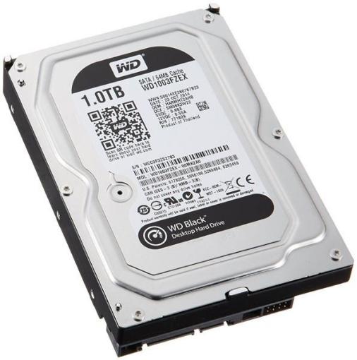 Picture of דיסק קשיח פנימי לנייח WD 1TB Black IntelliPower 64MB 3.5