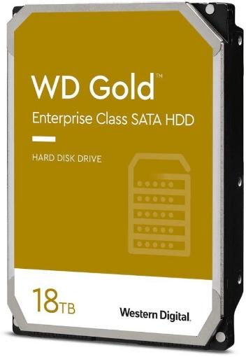 תמונה של דיסק קשיח פנימי לנייח WD GOLD 18TB 512MB 7200rpm 3.5 SATA3 6GB/PS