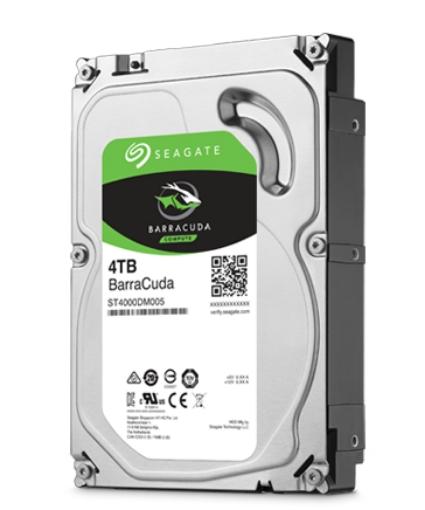 תמונה של דיסק פנימי SEAGATE BARRACUDA ST4000DM004 4TB 3.5 SATA