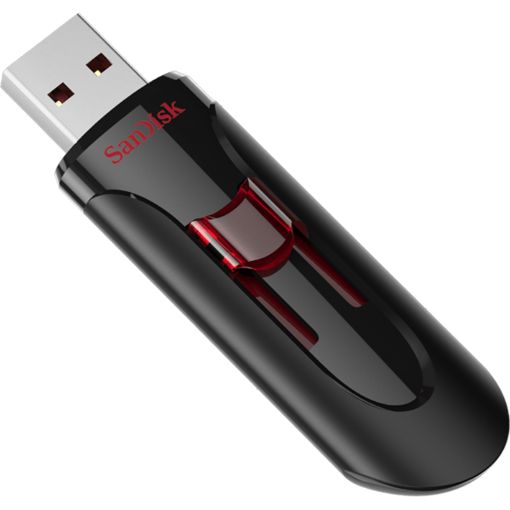 תמונה של דיסק און קי SanDisk 32GB CRUZER GLIDE usb 3.0