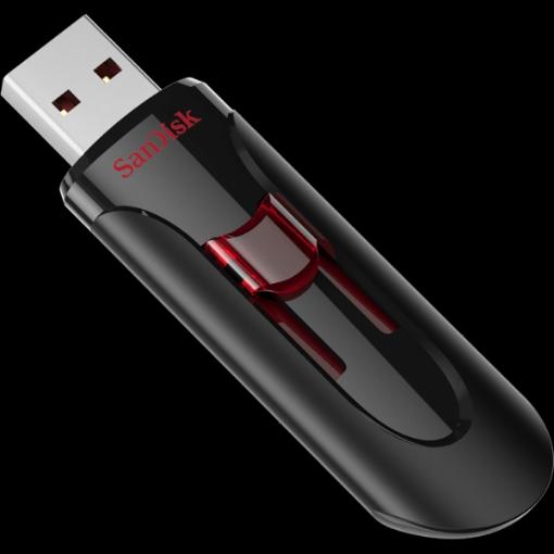 תמונה של דיסק און קי SanDisk 64GB CRUZER GLIDE usb 3.0