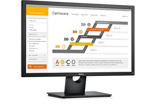 תמונה של מסך מחשב DELL E2417H