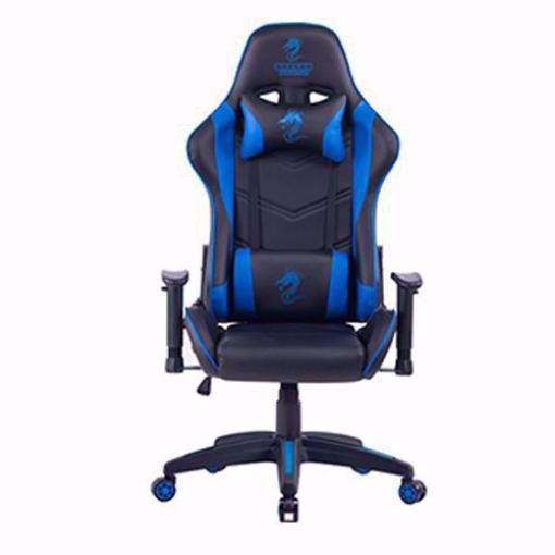 תמונה של כסא גיימינג מדגם Dragon Olympus שחור\כחול