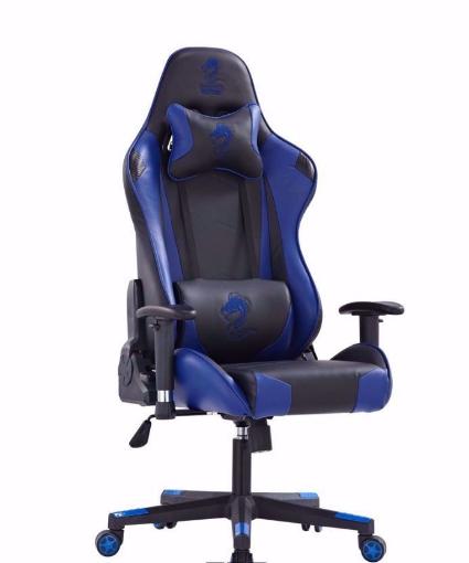Picture of כסא גיימינג מדגם  Dragon Gladiator שחור \ כחול