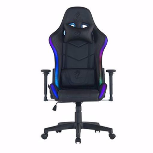 Picture of כסא גיימינג מדגם Dragon Space עם תאורת RGB שחור