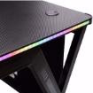 תמונה של שולחן גיימינג מקצועי    DragonPro Gaming Table Black XL RGB Led