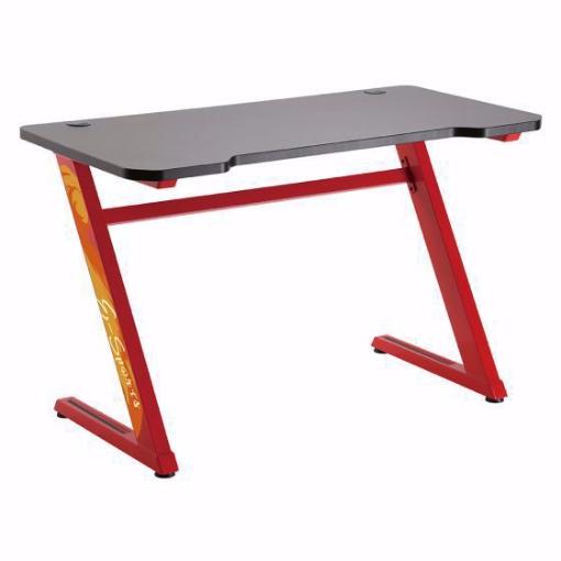 תמונה של שולחן גיימינג מקצועי LUMI GMD02-1 אדום