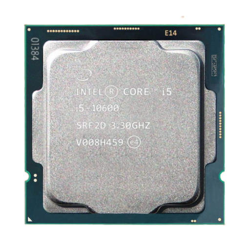 Picture of מעבד אינטל דור 10 Intel Core i5-10600 tray 4.8GHZ 6 Crs 12 Tr