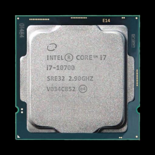 תמונה של מעבד אינטל דור 10 Intel Core i7-10700 Tray 4.8Ghz 8 Cres 16 Trds